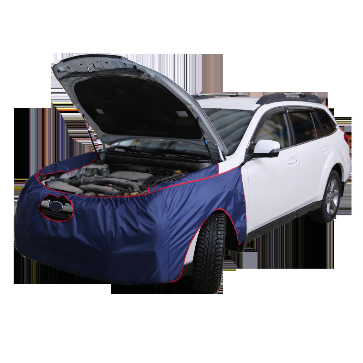 Накидки на переднюю часть автомобиля тканевые.