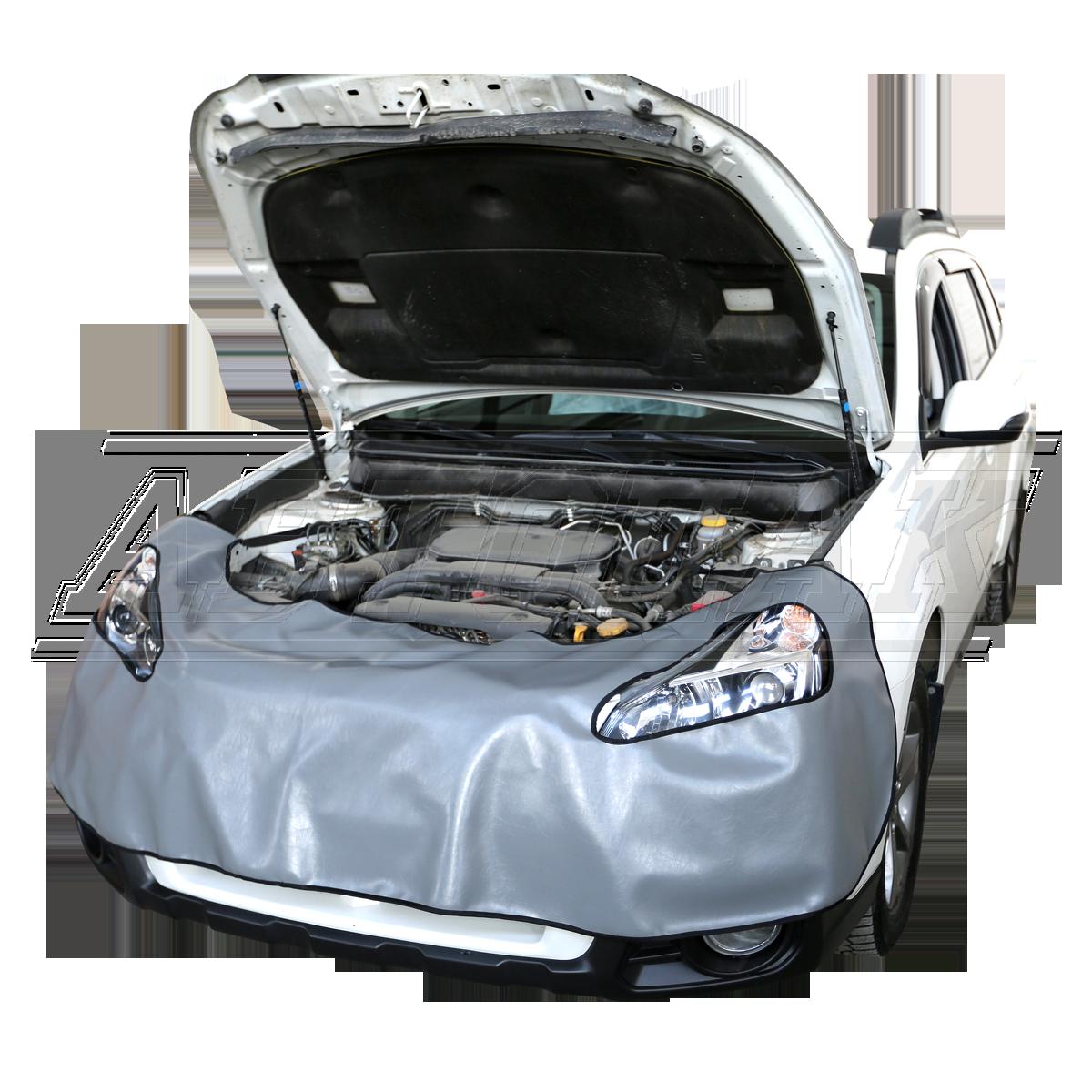 Накидки на переднюю часть автомобиля из эко-кожи.